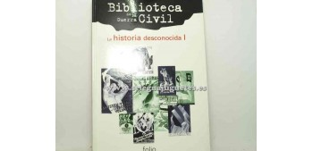 lead figure Book - BIBLIOTECA DE LA GUERRA CIVIL - LA HISTORIA
