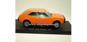 lead figure Seat 1200 Sport 1977 1:24 Ixo