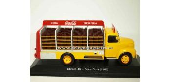 lead figure Ebro B-45 Coca Cola 1962 1:43 Ixo