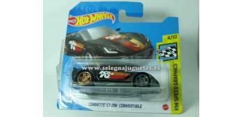 Corvette C7 Z06 Convertible 1/64 Hot wheels