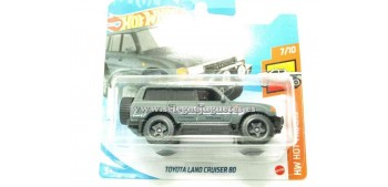 lead figure Toyota Land Cruiser 80 1/64 Hot wheels