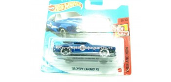 lead figure Chevy Camaro Rs 70 1/64 Hot wheels