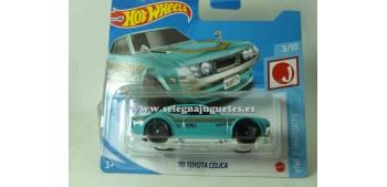 lead figure Toyota Celica 70 1/64 Hot wheels