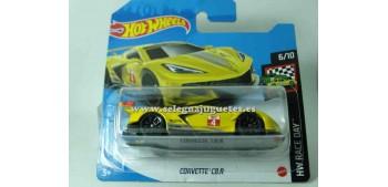 lead figure Corvette C8.R 1/64 Hotwheels