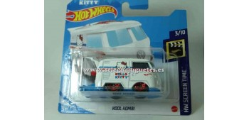 lead figure Kool Combi Hello Kitty 1/64 Hot wheels