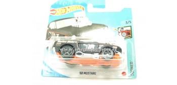 lead figure Ford Mustang 68 1/64 Hotwheels