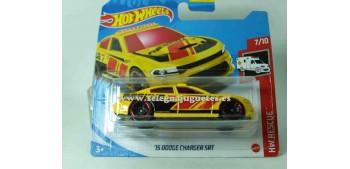 lead figure Dodge Charger Srt 15 1/64 Hot wheels