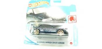 lead figure Subaru Impreza 22B STi-versión 98 1/64 Hot wheels