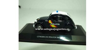 lead figure Citroen 2cv Policía Nacional Show case 1/43 Mondo