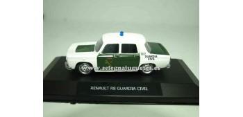 lead figure Renault 8 Guardia civil Show case 1/43 Mondo Motors