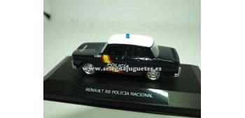 lead figure Renault 8 Policía Nacional Show case 1/43 Mondo
