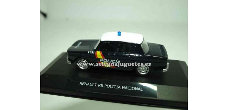 Renault 8 Policía Nacional vitrina 1/43 Mondo motors