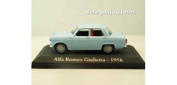 lead figure Alfa Romeo Giulietta 1956 (Vitrina) 1/43 Ixo - Rba