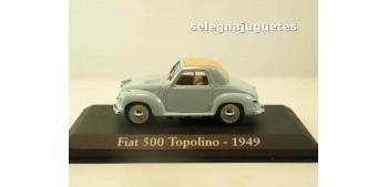 lead figure Fiat 500 Topolino 1949 (Vitrina) 1/43 Ixo - Rba