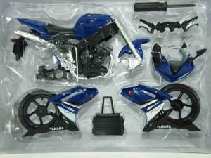 moto miniatura new ray yamaha yzf r1 escala 1/12