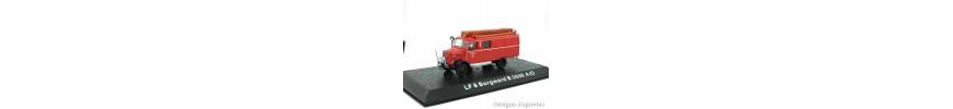 Firemen Cars 1/72