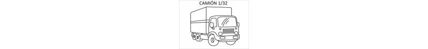 Camión a escala 1/32