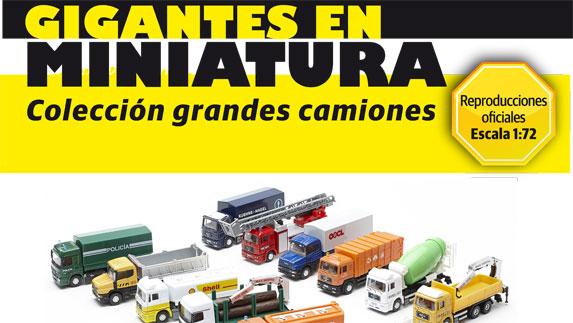 colección camiones 1/72
