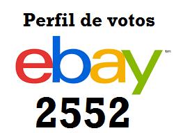 perfil votos ebay